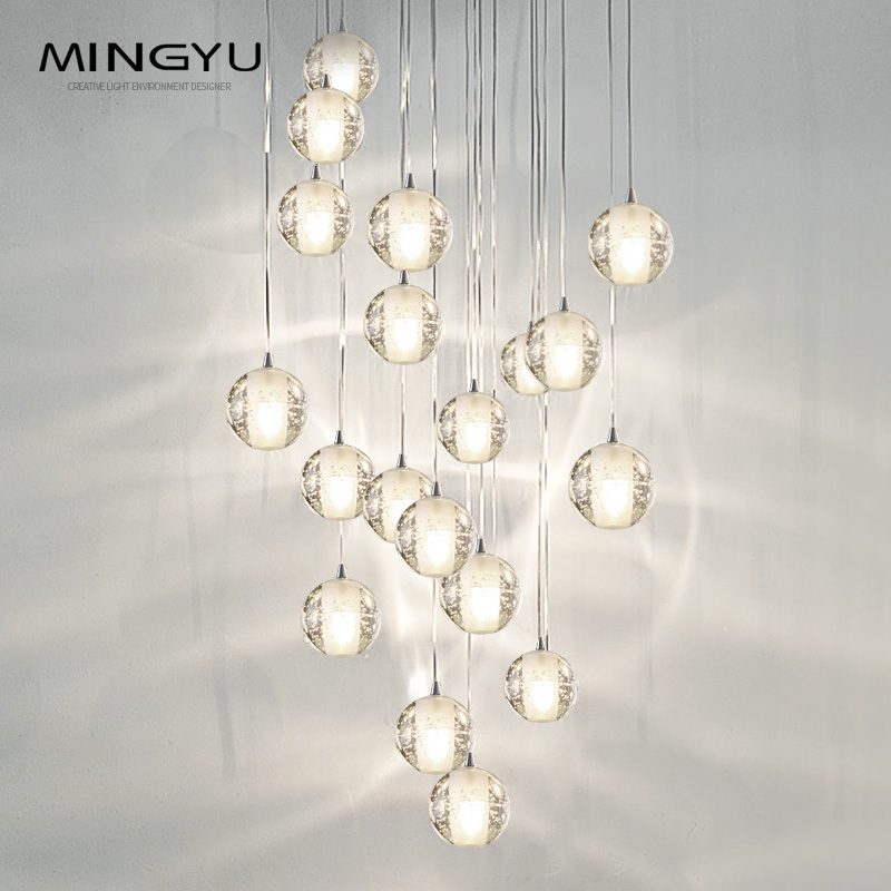 Factory Price Crystal Large Hotel lobby Modern LED Rain Drop Chandelier <strong>Lights</strong>