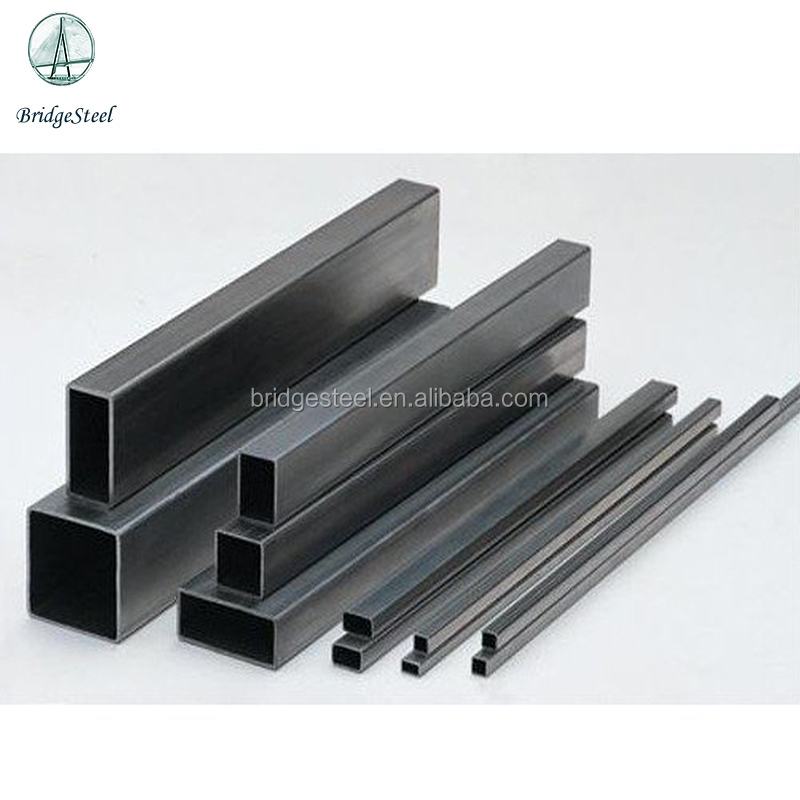China top supplier Black Rectangular/Square Steel Pipe Steel Tube hollow section carbon steel
