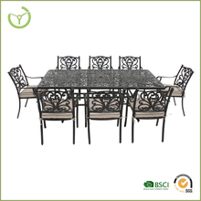 new designed hot sale garden patio bistro dining set cast aluminum outdoor furniture