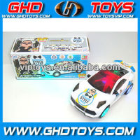 New Gangnam Style 3D light paddle wheel electric vehicle electric car toys