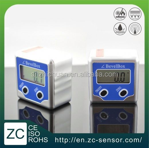 ZC Sensor digital inclinometer angle gauge meter spirit level 360