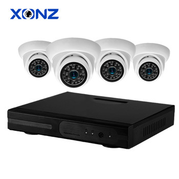 4CH 1080P AHD HDMI NVR 2MP Night Vision Home CCTV Security Camera Kit Dome Camera Kit