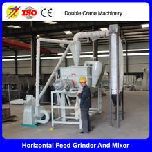 Cattle feed plant, animal feed grinder and mixer,cattle feed making machine