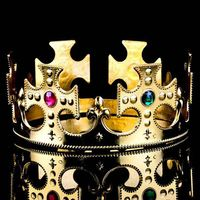 Cheap Jewelry Full Circle Custom Kings Crown For Sale