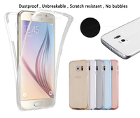 Transparent 2 in one TPu protector exclusive design mobile phone case for samsung J3 2017