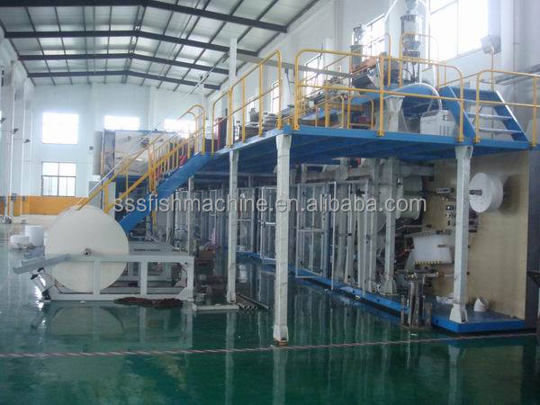 baby diaper production line with good performance made in China export to Canada Pakistan Malaysia