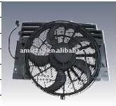FOR BMW X5 64546921382 64546921381 64546921940 Auto Cooling CONDENSER Fan