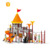Outside Toy Commercial Attractive Plastic Outdoor Playground for primary school