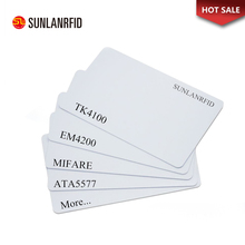 Manufacturing Plastic White Blank PVC ID Card Inkjet Printable PVC ID Card Size CR80