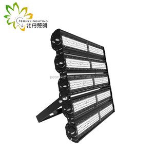 Factory price IP66 waterproof tennis court stadium high pole LED flood light 500W
