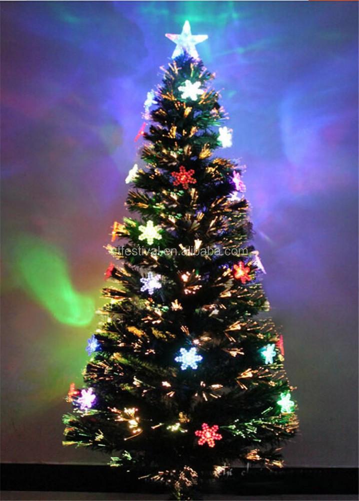Neue led schneeflocke dekoration 240cm glasfaser - Glasfaser weihnachtsbaum ...