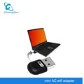 Dual Band 2.4GHz/5Ghz 150Mbp /433Mbps Mini Network Card Wireless USB WiFi Dongle Adapter 802.11a/b/g/n/ac for PC Laptop