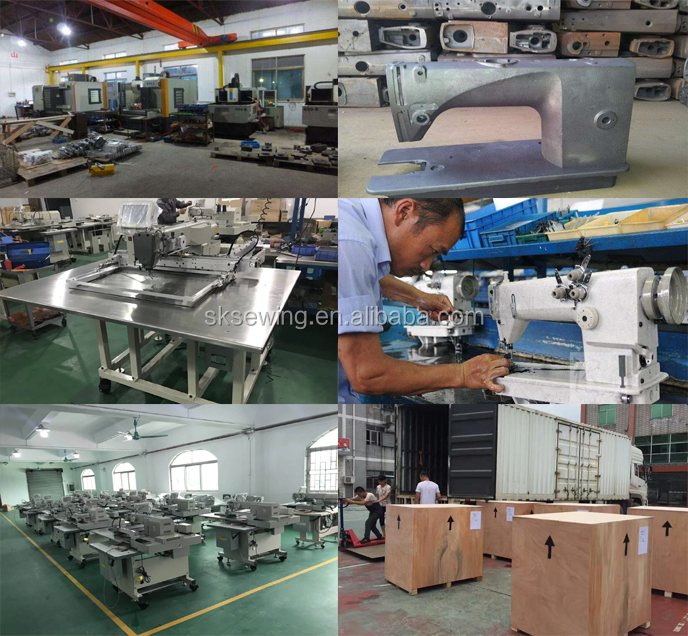 industrial Automatic pattern Double Size Hook sewing machine