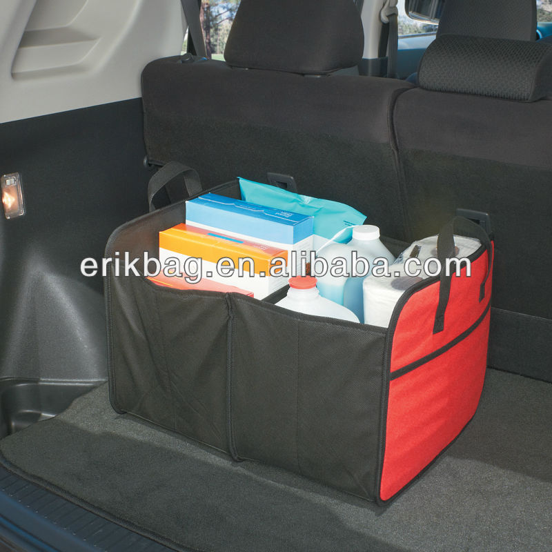 600D polyester folding Trunk Organizer