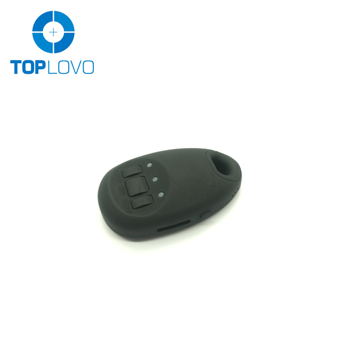 Toplovo factory newest 2G/3G global personal gps tracker kids, elder fall down alarm with web monitoring platform