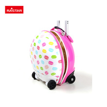 Hot sale Candy Design Walking Suitcase Kids Suitcase On Wheels