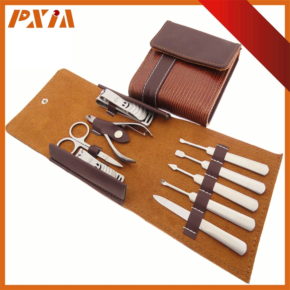 Genuine Leather Manicure Set Bag Nail Clipper kits Bag Cosmetic Bag