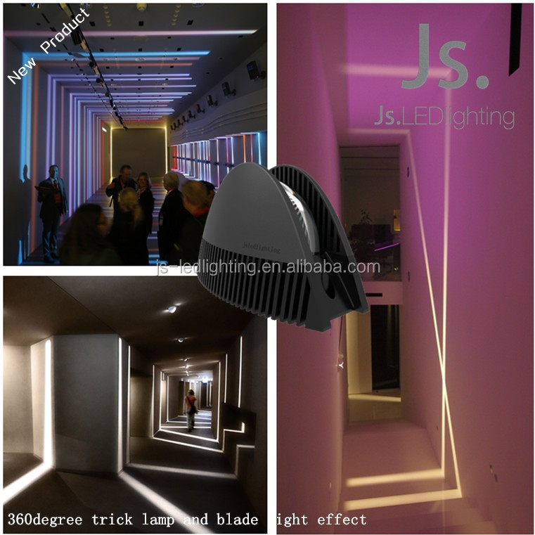 CE RoHS UL Approved hotel wall lamps 360 degree led strip lighting surface mount window light