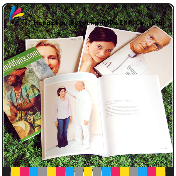 Paper Hard Cover Photo Magazine Printing
