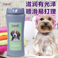 Factory prices pet bathing shampoo Natural Pet Dog Cat Shampoo 400ML