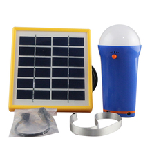 hot sale solar led light, emergency and portable lantern with 2W solar panel