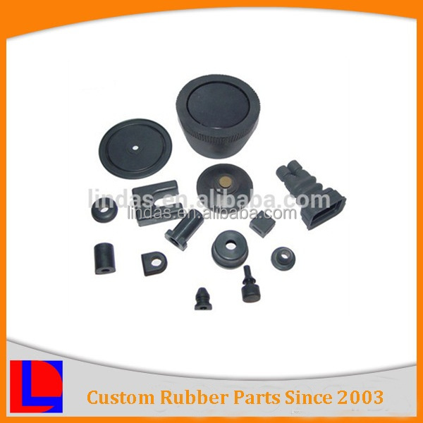 colours customized good quality nbr cr sbr Agricultural rubber Fittings
