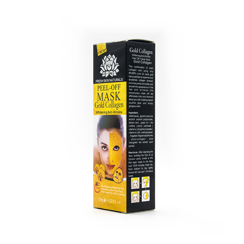 Cheap <strong>Manufacturer</strong> Hot Sale Gold Bio Collagen Facial Mask