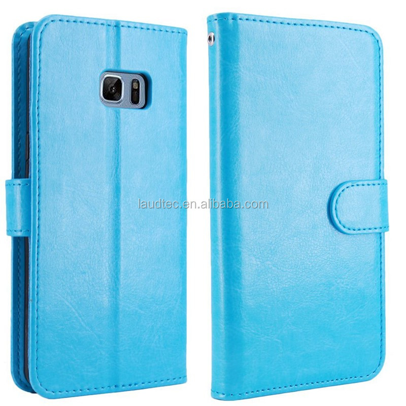 New Wallet Flip PU Leather Phone Case Cover For Samsung Galaxy Note7,Magnetic Leather Flip Case for Note7
