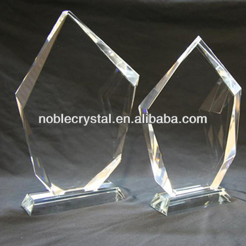 Noble New Design Blank Crystal Iceberg Award