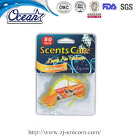 7ml Car Shape Scented Oil perfume type hanging liquid car vent freshener