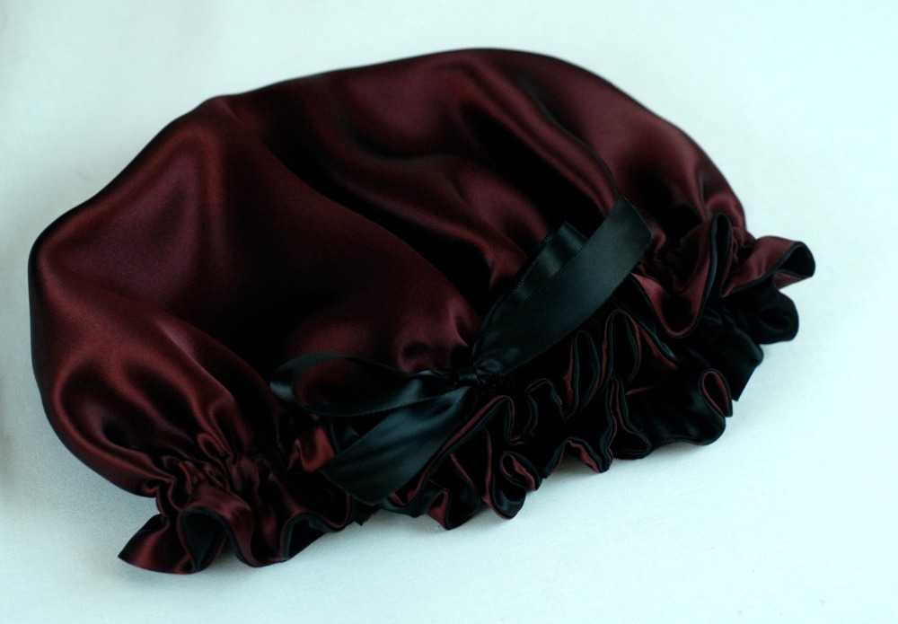 100% Pure Silk Sleep Bonnet