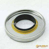 vacuum pumps PTFE stainess steel double lip oil seals