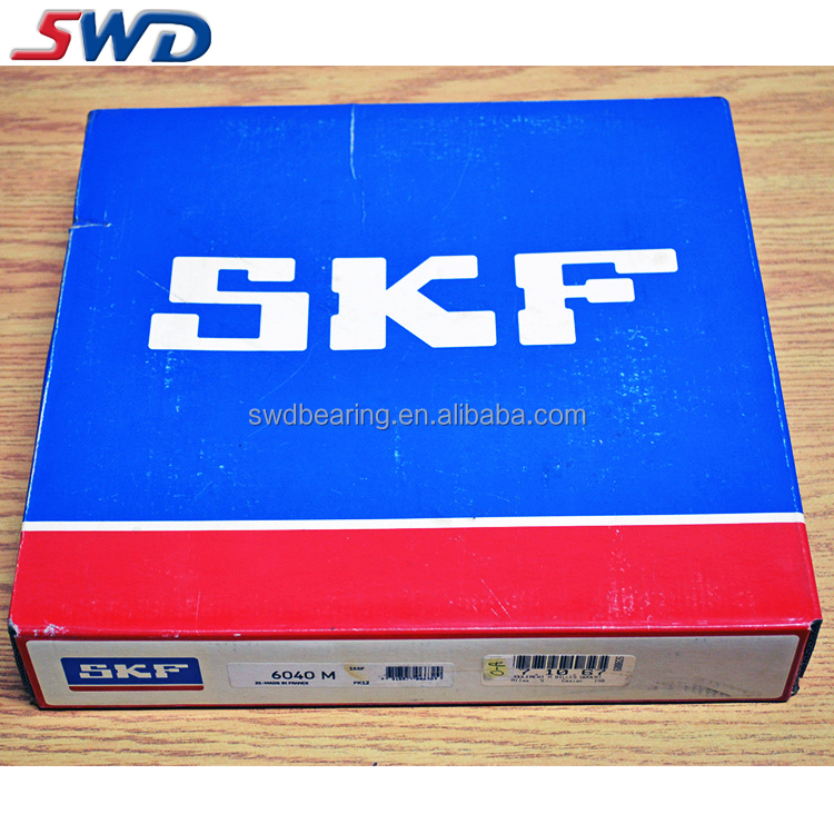 France SKF Deep Groove Ball Bearing 6040M brass cage bearings 6040