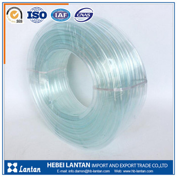 4 inch light weight oil resistance pvc clear fluid hose