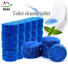 Wc blue toilet bowl cleaner tablets