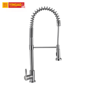 China Kitchen Single Handle Faucet Pull Out Water faucet