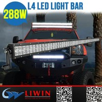 "LIWIN high quality 50"" liwin car led light bar 288w for car and motorcycle tail bulbs bulb motorcycle"