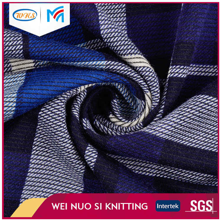 Factory custom printed polyester spandex stretch knitted fabric