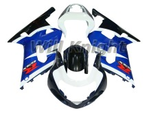 ABS Fairing K1 For Suzuki GSXR 600/750 2001 2002 2003 GSXR-600 Blue Plastic Bodywork Kit Set Fit GSX R600 GSX R750