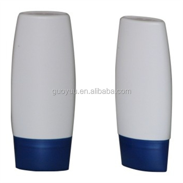 White OEM Plastic Container/60ml Small Sunscreen PE Bottle