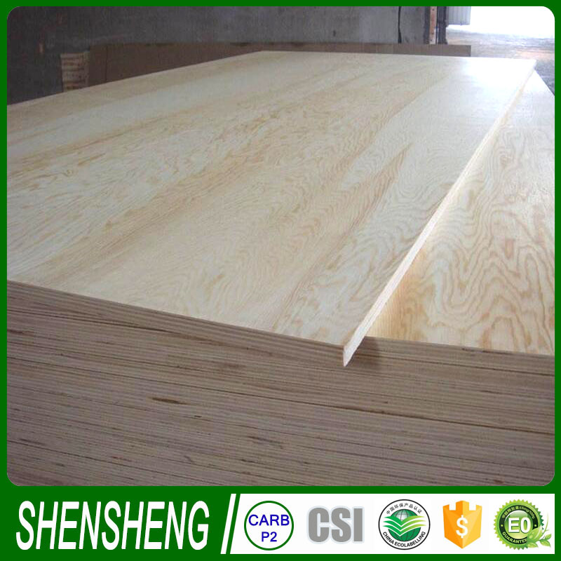 4ft x 8ft sheets 2mm poplar Plywood , Pine core wood veneer plywood sheet