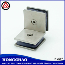 90 degree stainless steel double sided clamp