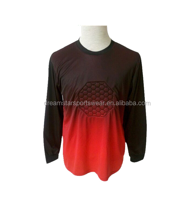 Orange Goal Keeper Soccer Jerseys 2019