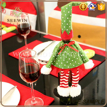 wholesale christmas stocking fancy decorative wine paper bag