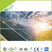 Photovoltaic panel 250w also called polycrystalline solar panel for large solar power plant