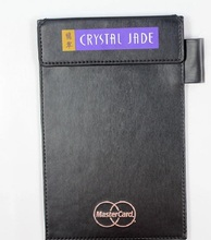 High-end Design Leather Material Menu Cover Padding