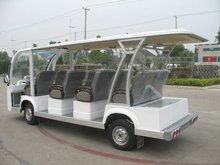 Luxury seats for 14 seats Electric mini bus/electric mini car/electric shuttle car