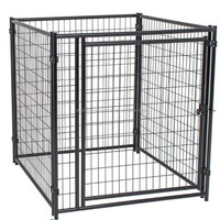 Eco-friedly and stocked new design large outdoor folding dog kennels/dog cages/pet houses