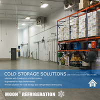 MOON CE Cold storage freezer building system manufacturer in cold room