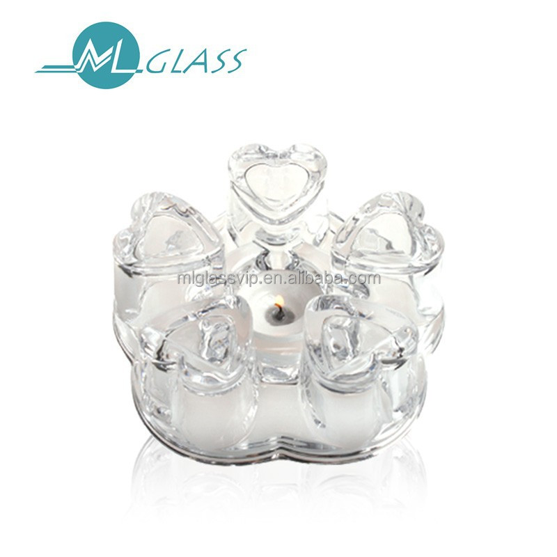 candle holder glass teapot 6177